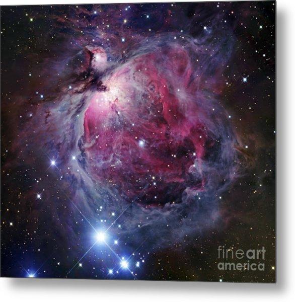 The Orion Nebula Metal Print