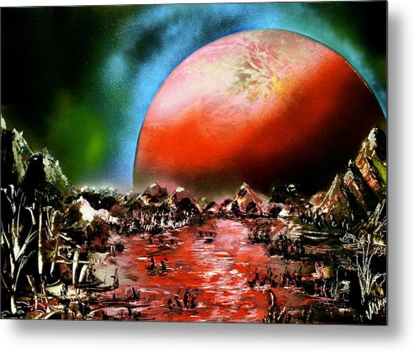 The Other Land Metal Print