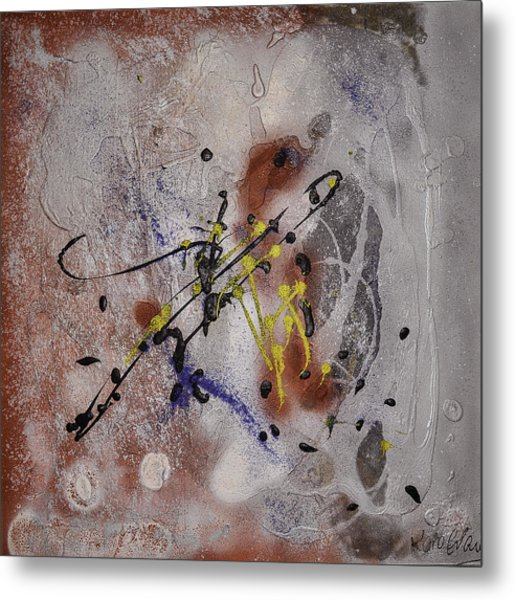 The Other Side Of The Brain#2 Metal Print