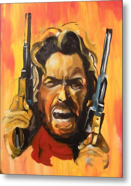 The Outlaw Josey Wales Metal Print