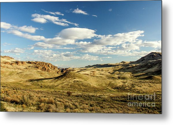The Owyhee Desert Idaho Journey Landscape Photography By Kaylyn Franks  Metal Print