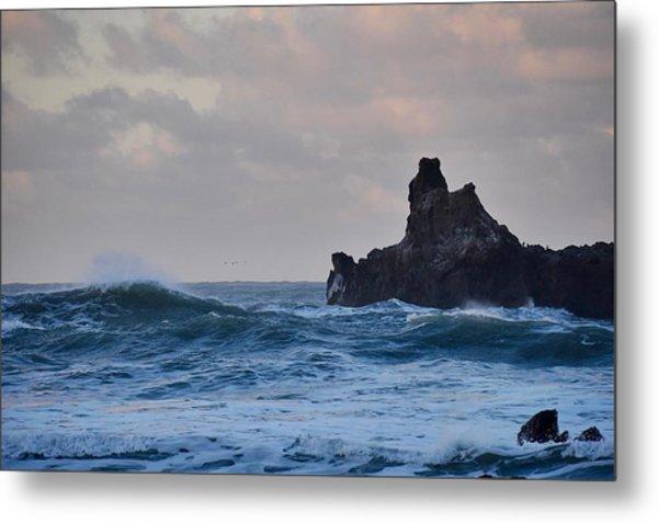 The Pacific Ocean Metal Print
