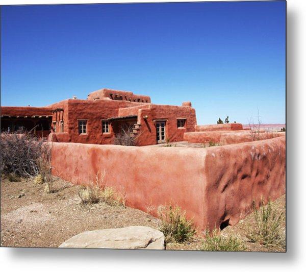 The Painted Desert Inn Metal Print