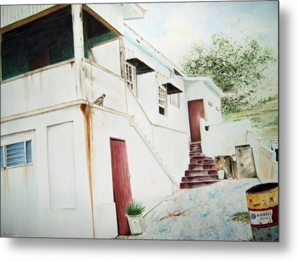 The Painters House Metal Print by Brian Degnon
