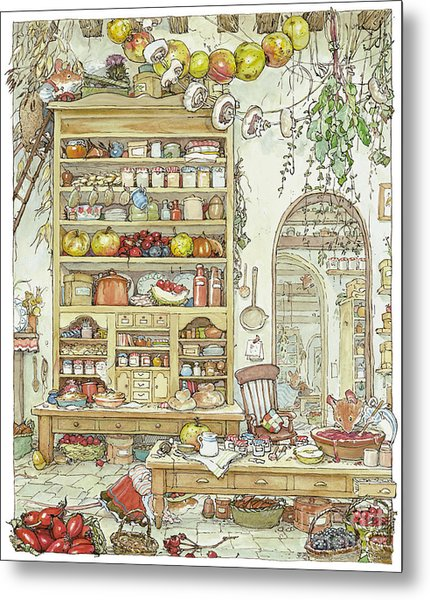 The Palace Kitchen Metal Print
