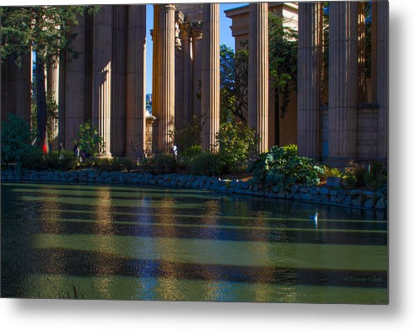 The Palace Pond Metal Print