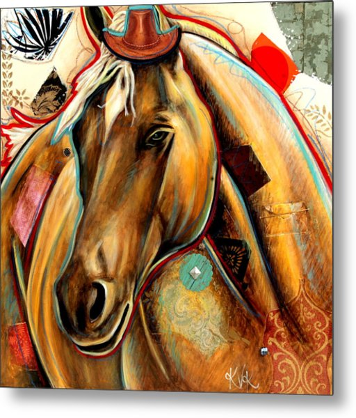 The Palomino Metal Print