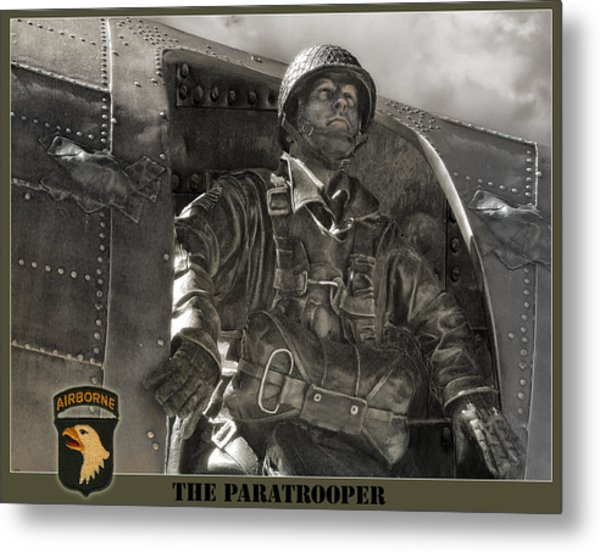 The Paratrooper Metal Print