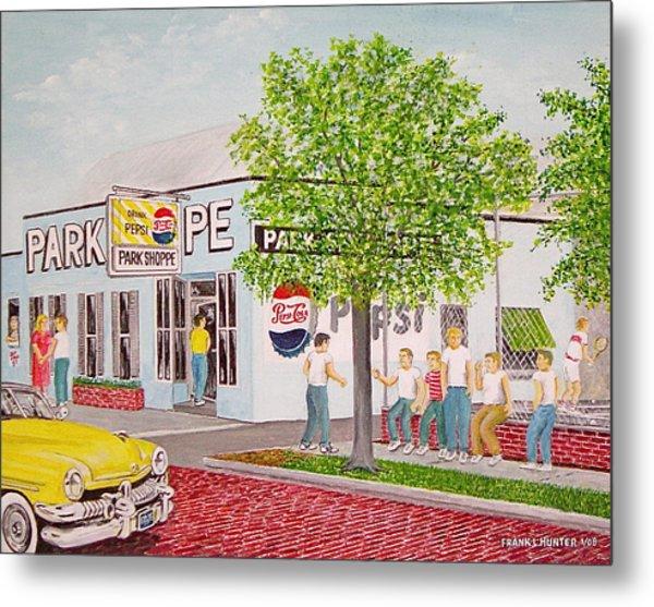The Park Shoppe Portsmouth Ohio Metal Print