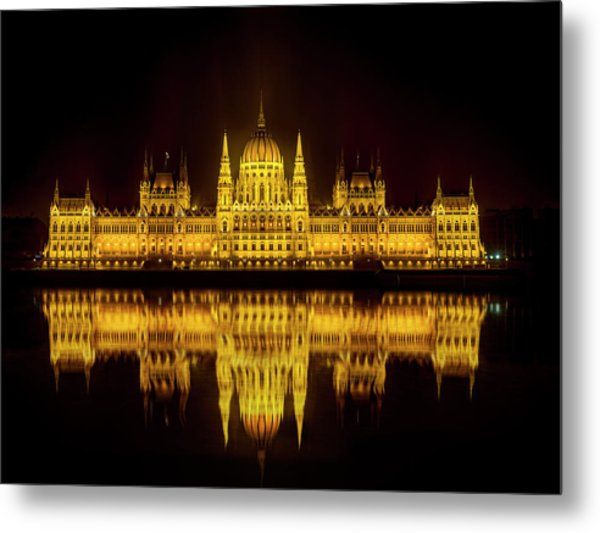 The Parliament House Metal Print