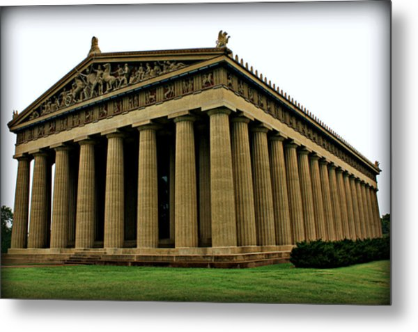 The Parthenon 2 Metal Print
