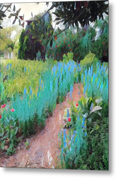 The Path Less Traveled Metal Print