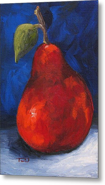 The Pear Chronicles 007 Metal Print by Torrie Smiley