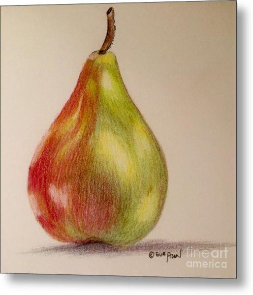 The Pear Metal Print