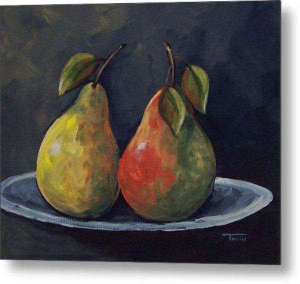 The Pears  Metal Print by Torrie Smiley
