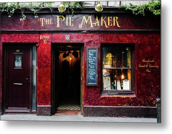 The Pie Maker Metal Print