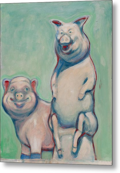 The Pigs Metal Print