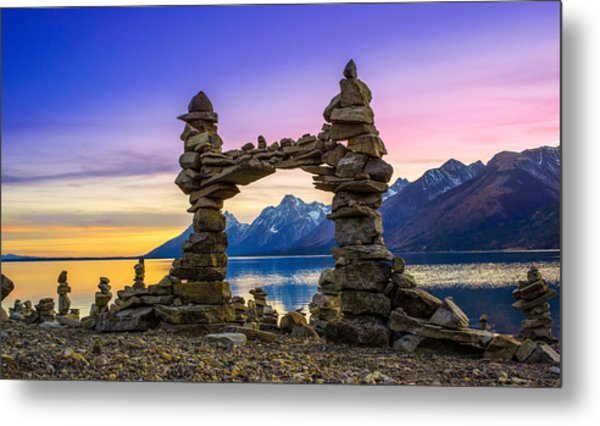 The Pillars Of The Earth Metal Print