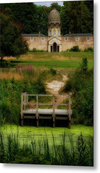 Metal Print featuring the photograph The Pineapple House by Jeremy Lavender Photography