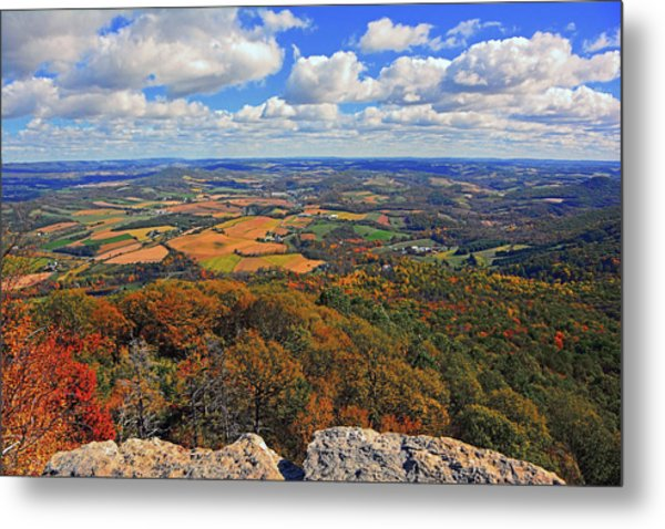 The Pinnacle On Pa At Metal Print