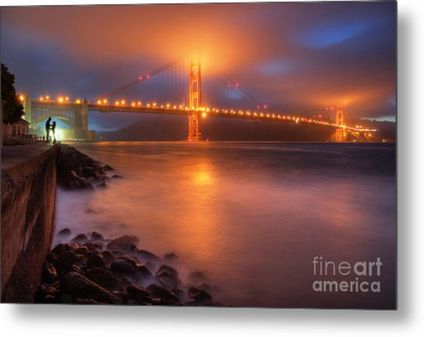 The Place Where Romance Starts Metal Print