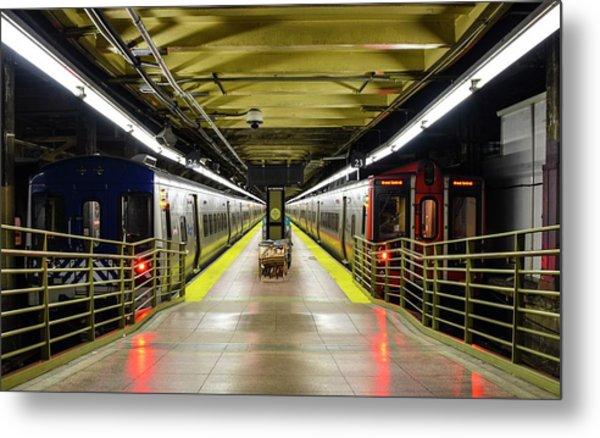 Metal Print featuring the photograph The Platform by Rand