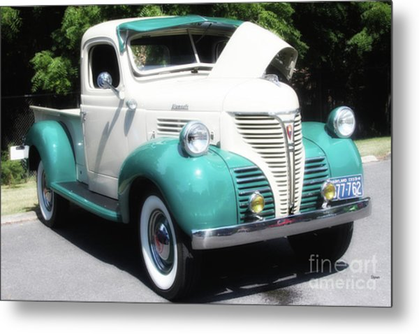 The Plymouth 1941 Metal Print by Steven Digman