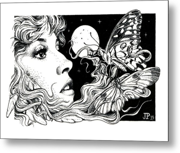 The Poet In My Heart Metal Print