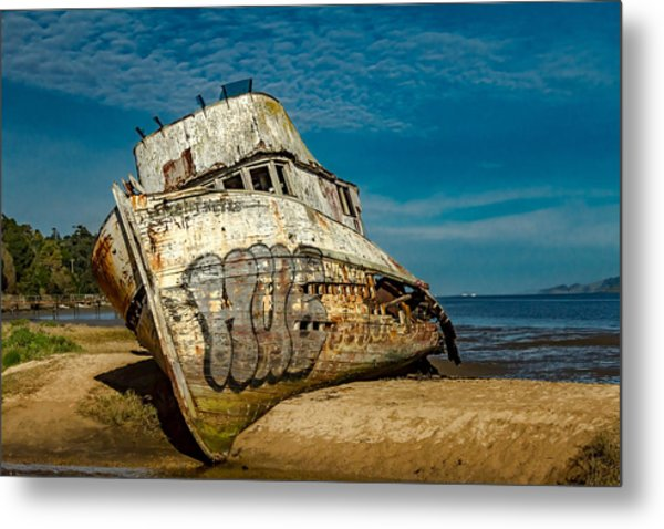The Point Reyes Beached Metal Print