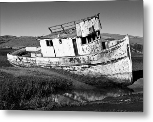 The Point Reyes Metal Print