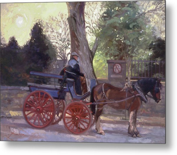The Pony Trappe Metal Print