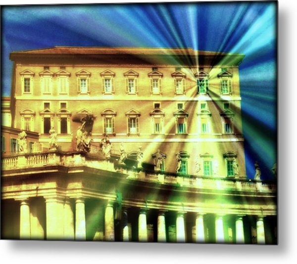The Pope's Window Metal Print by Jen White