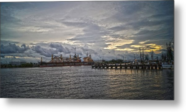 The Port Metal Print by Chauncy Holmes