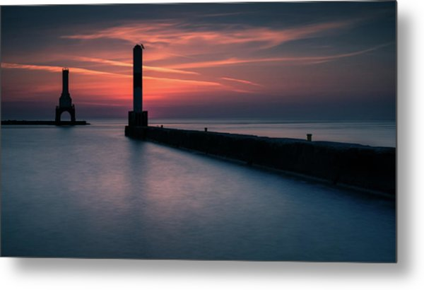 The Port Metal Print