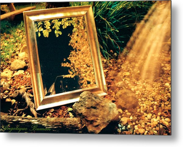 Metal Print featuring the photograph The Portal by Angelique Bowman