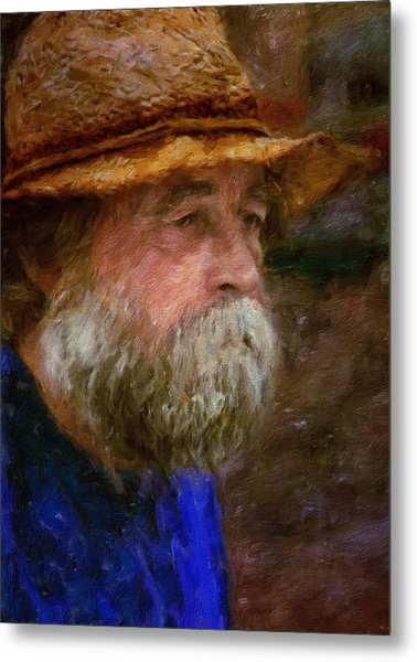 The Portrait Of A Man Metal Print
