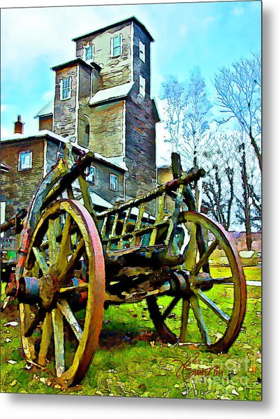 The Pottery - Bennington, Vt Metal Print