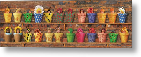 The Potting Shed Metal Print