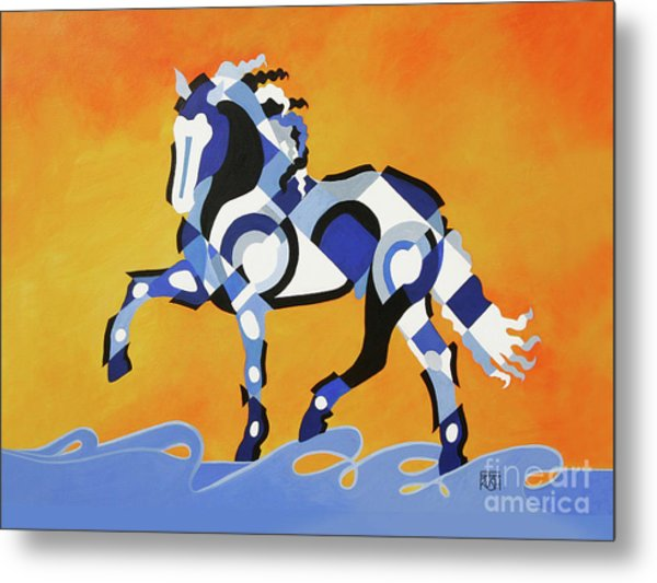 The Power Of Equus Metal Print