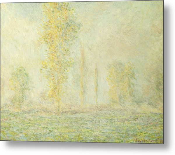 The Prairie In Giverny Metal Print