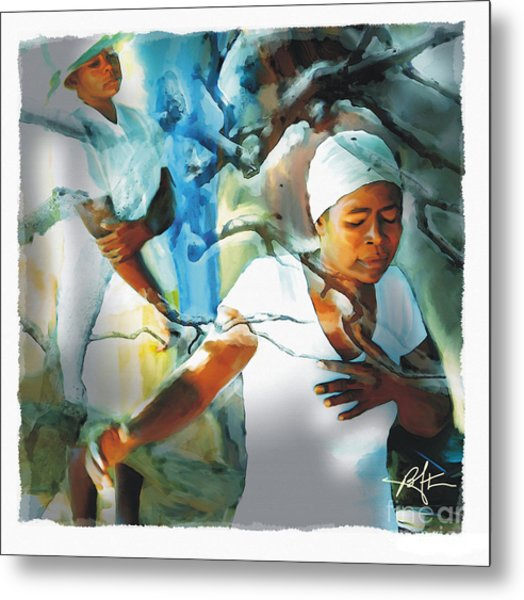 The Prayer Tree Haiti Metal Print
