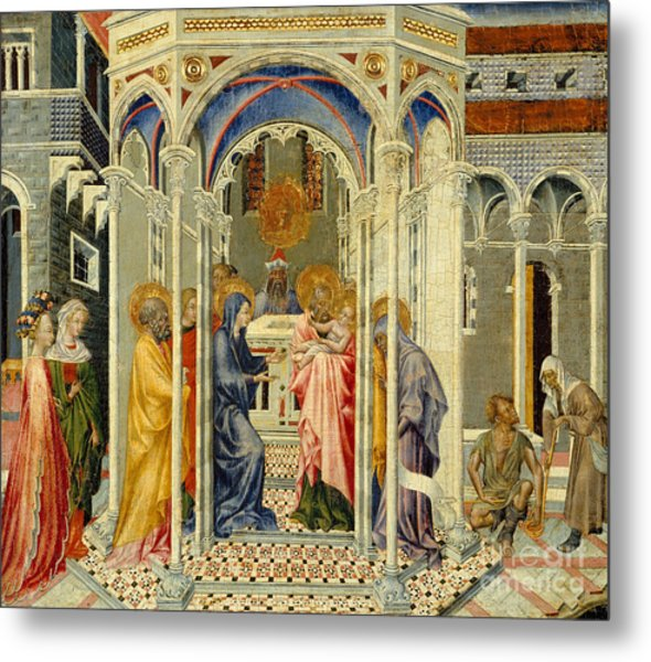The Presentation Of Christ In The Temple Metal Print
