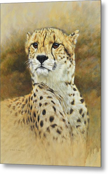 The Prince - Cheetah Metal Print
