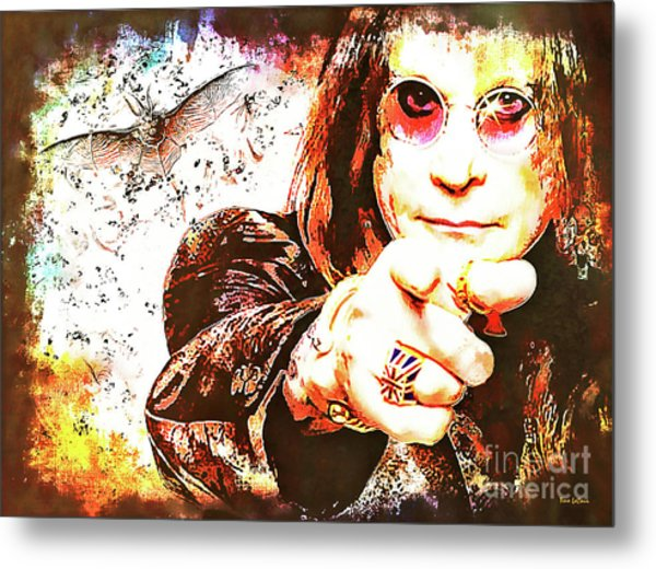 The Prince Of Darkness Metal Print