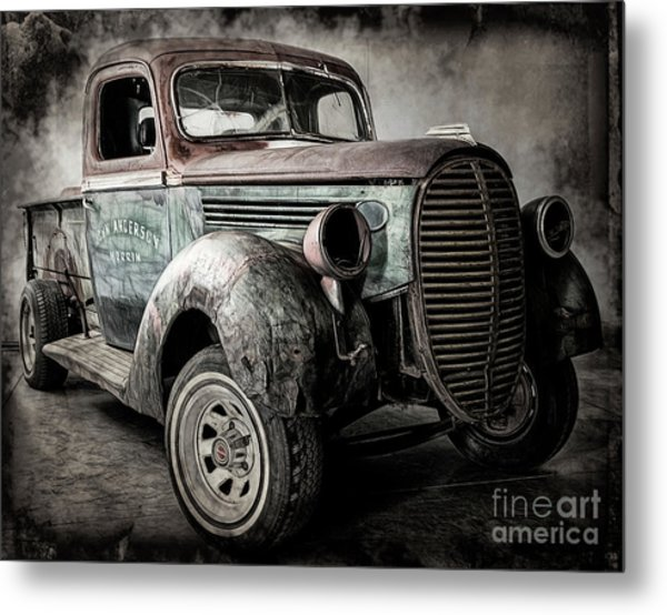 The Project Metal Print