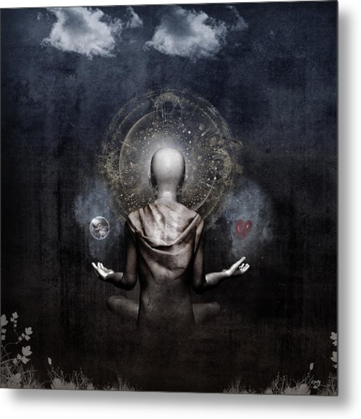 The Projection Metal Print by Cameron Gray