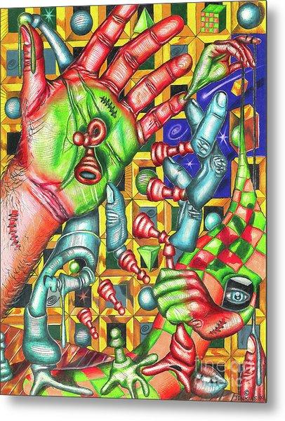 The Quantum Mechanics Of Chess And Life Metal Print