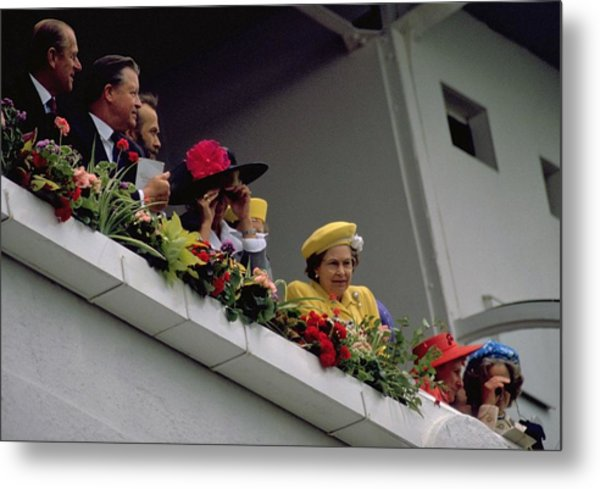 Photograph - The Queen At Derby Day 1988 by Travel Pics