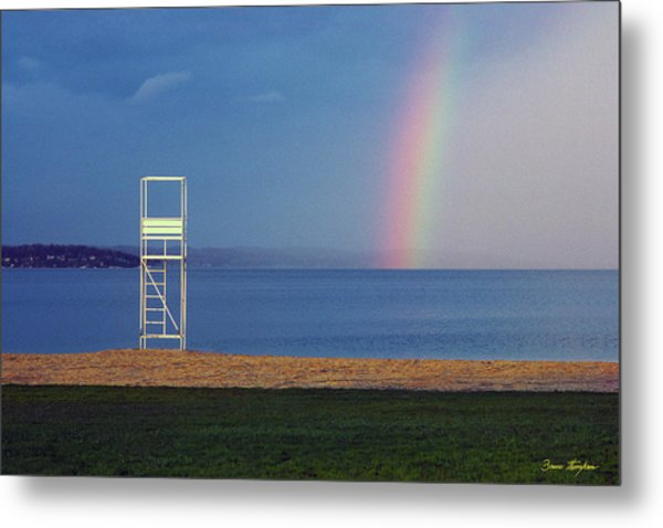 The Quiet Season - Lake Geneva Wisconsin Metal Print