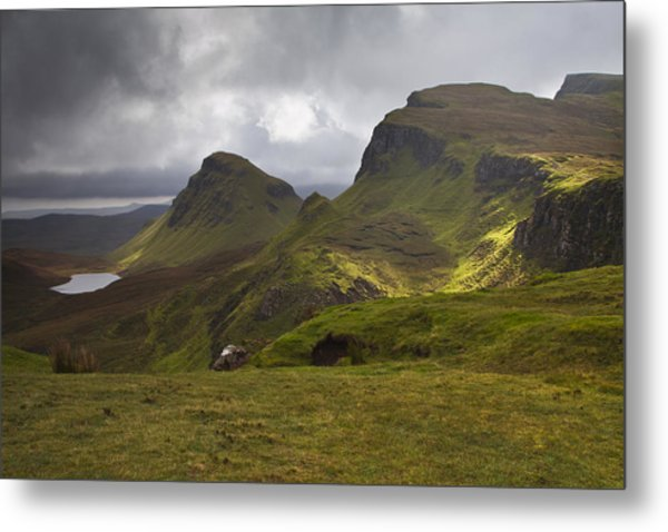 The Quiraing Isle Of Skye Scotland Metal Print